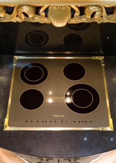 Электрическая панель KUPPERSBERG FA6RC Bronze