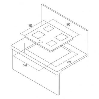 Индукционная панель KUPPERSBERG FA6IF01