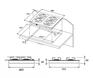 Газовая панель KUPPERSBERG TG 699 BOR 3