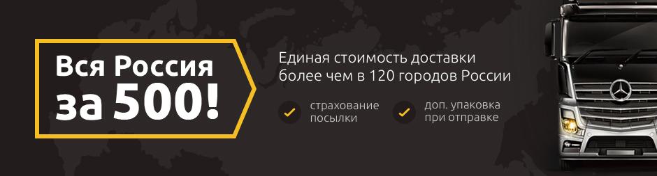 Единая стоимость доставка по всей России!